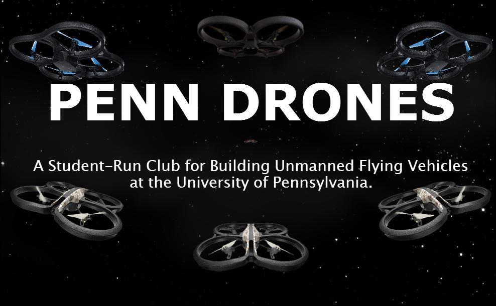 Penn Drones Website, a website Spiro designed for the club Penn Drones at the University of Pennsylvania.