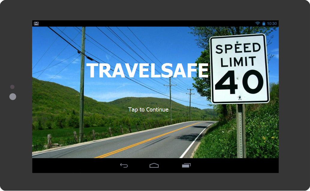 Travelsafe, Spiro's project for Pennapps Fall 2015.